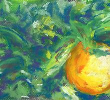 L'Orange (pastel) by Niki Hilsabeck