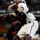 San Francisco Giants Buster Posey by art-hammer