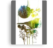 Spring always comes. Just wait Canvas Print