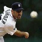 Detroit Tigers Justin Verlander by art-hammer