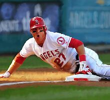 Anaheim Angels MikeTrout by art-hammer