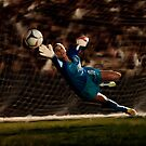 Goalkeeper Hope Solo by art-hammer