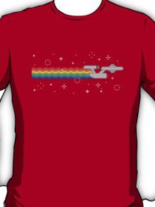 Space Rainbow Flyer T-Shirt