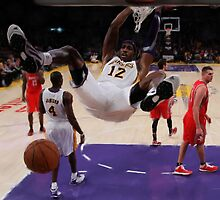 Los Angeles Laker Dwight Howard by art-hammer