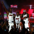 Miami Heat&#x27;s Big Three by art-hammer