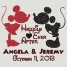 Mickey & Minnie Mouse Happily Ever After Personalized by sweetsisters