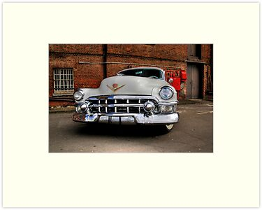 Cadillac smile  by larry flewers