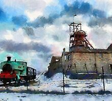 The Big Pit, Blaenavon, Wales by buttonpresser