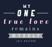 "The Mortal Instruments: ""My one true love"" by dictionaried"