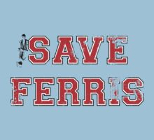 Save Ferris (red) Kids Clothes