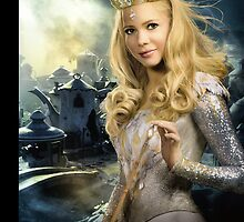 "Glinda from ""Oz: the Great and Powerful"" - Teapot Village by Britnasty"