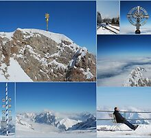 Zugspitze View - Top of the Mountain by MY Scotland
