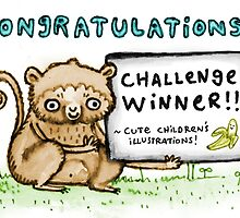 Cute Children's Illustrations! Challenge Winners' Banner by Sophie Corrigan