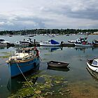 Bembridge Harbour Scene by Rod Johnson