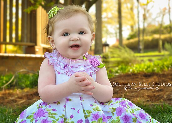My Easter Dress by ©Marcelle Raphael / Southern Belle Studios