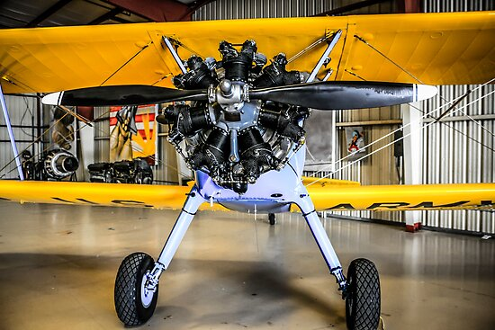 PT17 Stearman by Chris L Smith