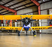 USARMY PT17 Stearman bi-plane by chris-csfotobiz