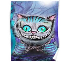 Cheshire Cat from Alice in Wonderland  Poster