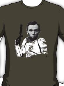 Abraham Lincoln Stormtrooper (without text) T-Shirt