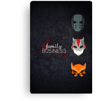 Family Business  Canvas Print