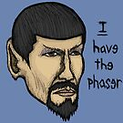 Evil Spock by Brett Gilbert