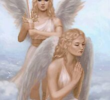 Angels to Watch Over You by SandraWidner
