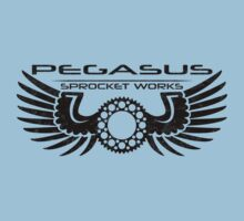 Pegasus Sprocket Works Logo by RNobles
