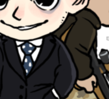 Cute Moriarty and Moran Sticker