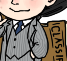 Cute Mycroft Sticker