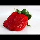 Fragaria x Ananassa - Fresh Garden Strawberry by © Sophie Smith