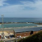Merewether  Baths Newcastle Australia  by Virginia McGowan