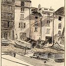 St Tropez pencil sketch by ChrisNeal