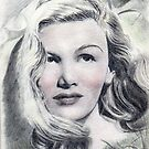 Veronica Lake pencil sketch by ChrisNeal
