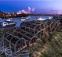 Crab pots at Paddy's Hole  by neil sturgeon