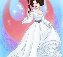 Disney Princess Leia by asurocks