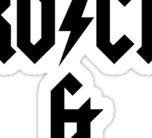 LOVE ROCK AND ROLL Sticker