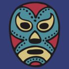 Mexican Wrestling Mask - Lucha Libre by dukepope