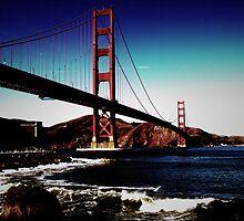 Golden Gate Bridge  by Cyntain