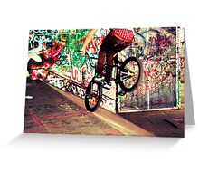Skate Park, London Greeting Card