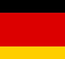 Iphone Case - Flag of Germany - Horizontal by Mark Podger
