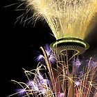 Seattle Space Needle by Sarah Slapper