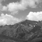 Various cloudy summits nr glacier du Trient by stanagerob
