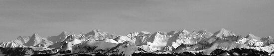Eiger, Monch, Jungfrau by stanagerob