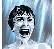 Shower scream by SixPixeldesign