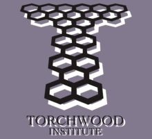 Torchwood Logo (Black & White) by Bastien13