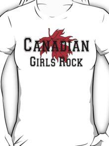 Canadian Girls Rock T-Shirt
