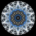 Blue Car Building Kaleidoscope 001 by fantasytripp