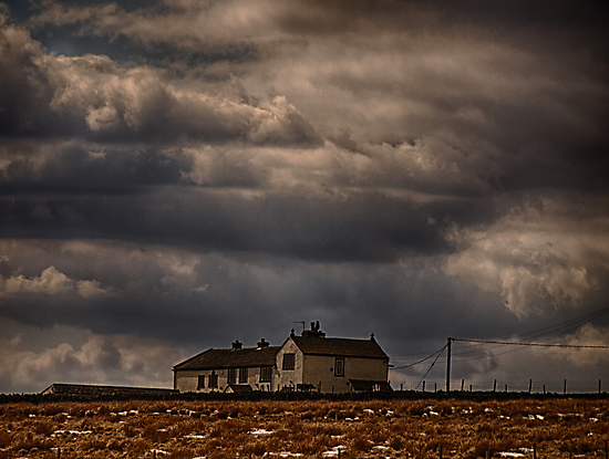 Ovenden Moor Farmhouse  by Glen Allen