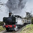 Steam Train by JEZ22