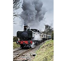 Steam Train Photographic Print